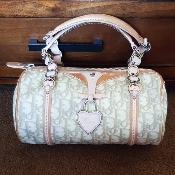 Dior Handbags - Authentic Dior trotter romantique duffle